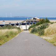 Breezand beachhouses, pad naar de strandhuisjes