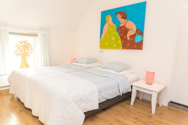 Pension Oppe Klincke, slaapkamer Andringa
