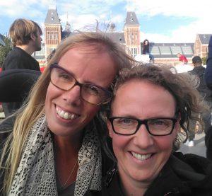 Eelke en Else in Amsterdam