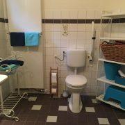 Bommel toilet/badkamer (links 1 opklapbare beugel)