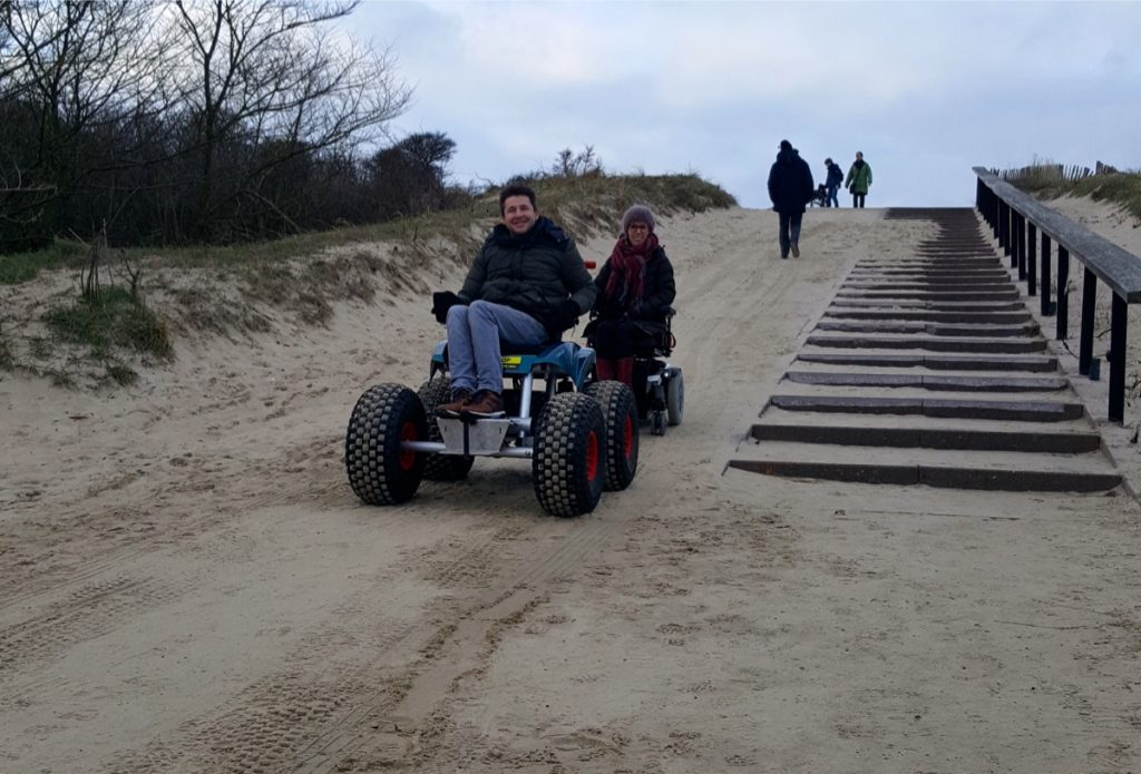 Windekind, Rob in de strandstoel