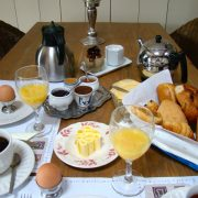 La Normande, ontbijtje