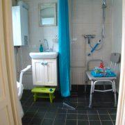 Pipwagen Warm welkom, badkamer