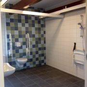 It Sailhus, appartement Rakken grote badkamer