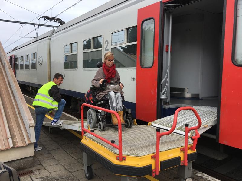 Eelke gaat de trein in, Belgie