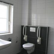 Kamelenmelkerij, rolstoeltoegankelijk badkamer