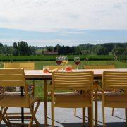Villa Veldzicht, uitzicht terras