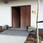 Villa Veldzicht, voordeur