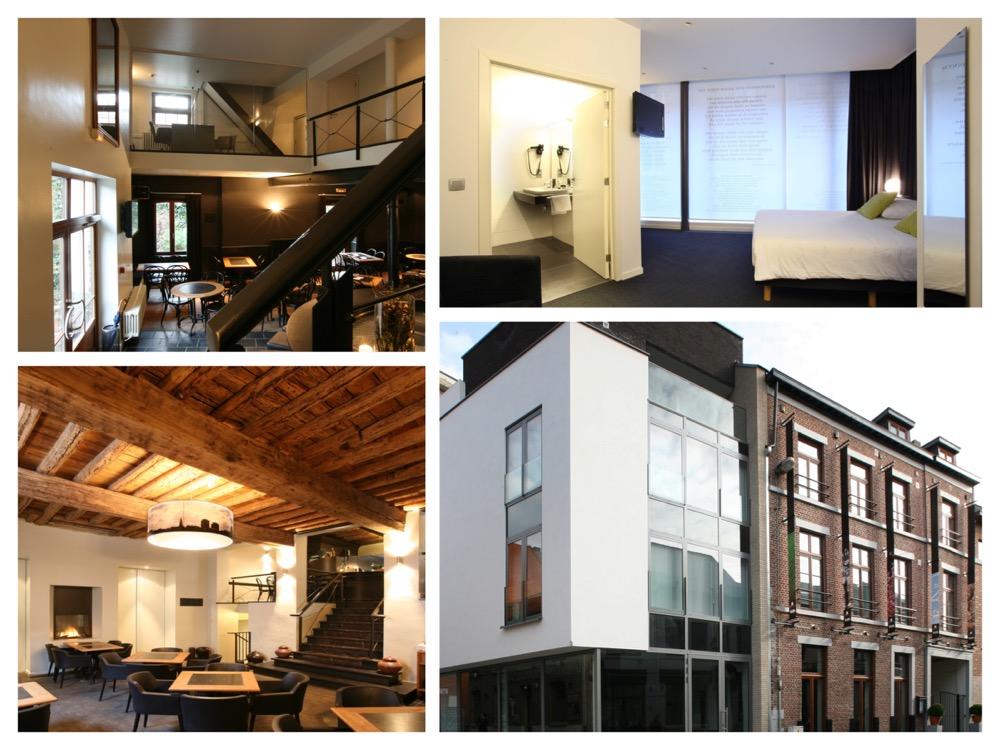 collage van hotel de Groene Hendrickx