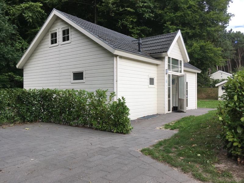 Chalet Zuid Limburg, voorkant