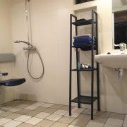 De Zes wielen, rolstoeltoegankelijke badkamer/wastafel