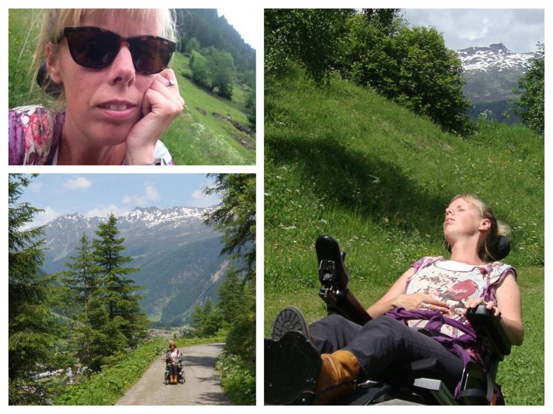 Collage Eelke in Oostenrijk
