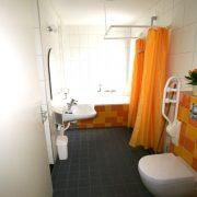 Luctor, rolstoeltoegankelijke badkamer