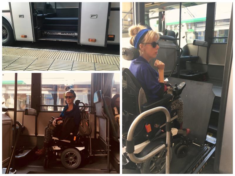 Eelke in de bus van ALSA