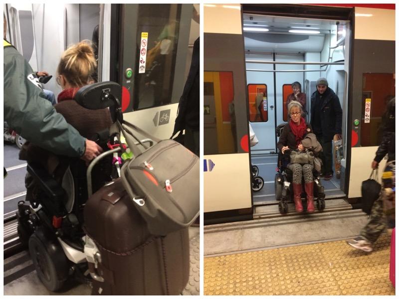 welk treinstation heeft poortjes