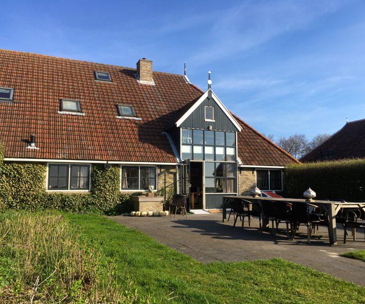 Schipsdune, achterkant boerderij