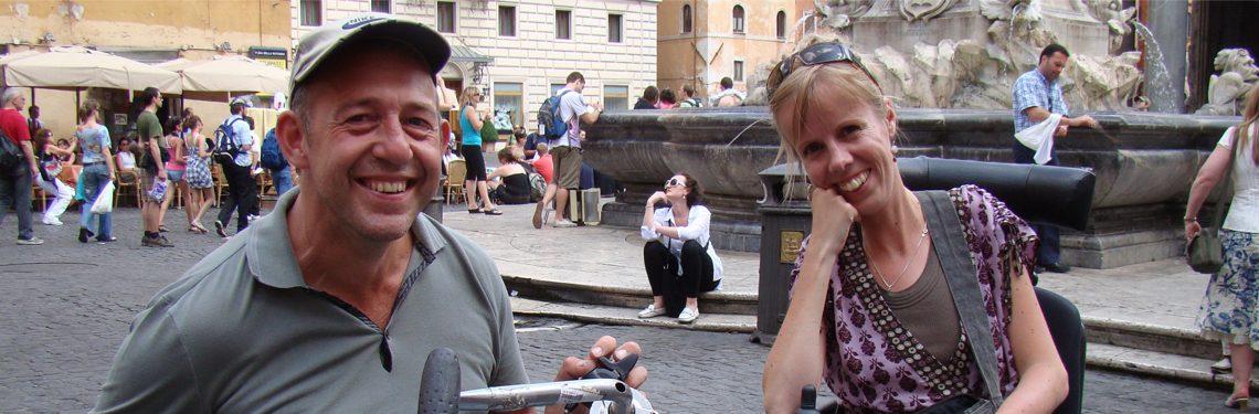 Jon en Eelke in Rome