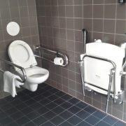 Concious Hotel Vondelpark, badkamer toilet