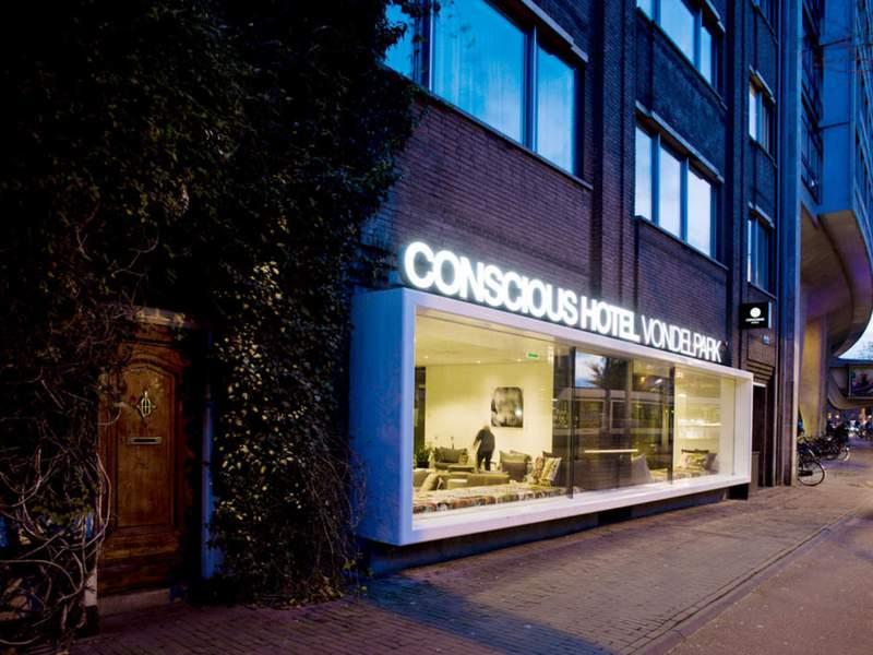Conscious Hotel Vondelpark, buitenkant