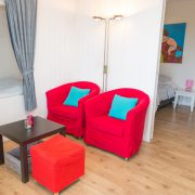 Oppe Klincke appartement Andringa, woonkamer