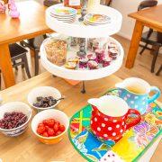 Oppe Klincke appartement Andringa, ontbijt