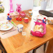 Oppe Klincke appartement Andringa, ontbijttafel