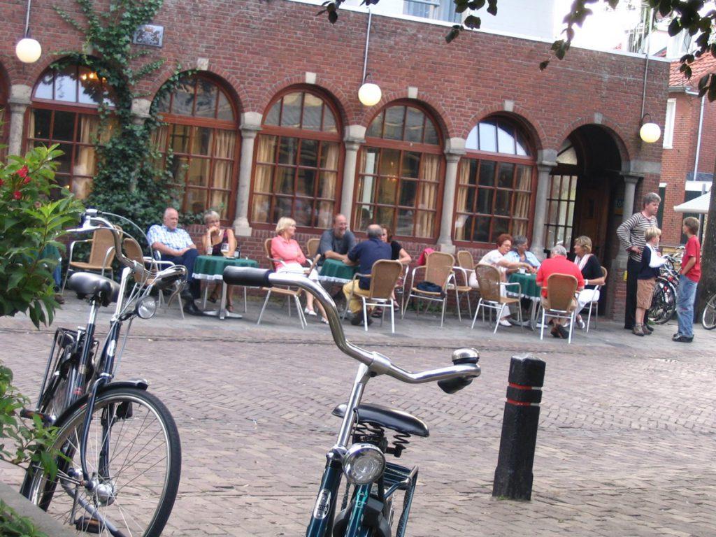 Hotel van der Werff, terras