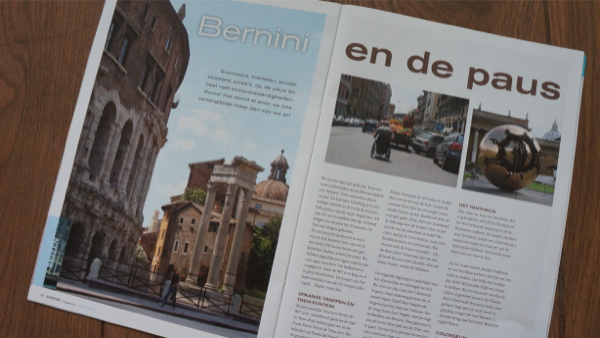 Artikel Rome Support magazine