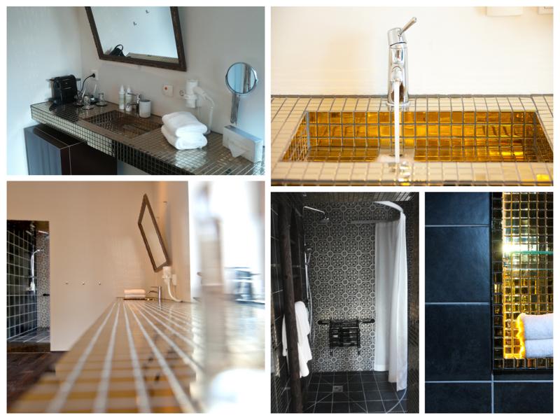 Het sanitair is aangepast met opklapbare beugels bij het toilet en inloopdouche met opklapbaar douchezitje