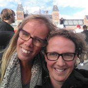 Eelke en Else in Amsterdam