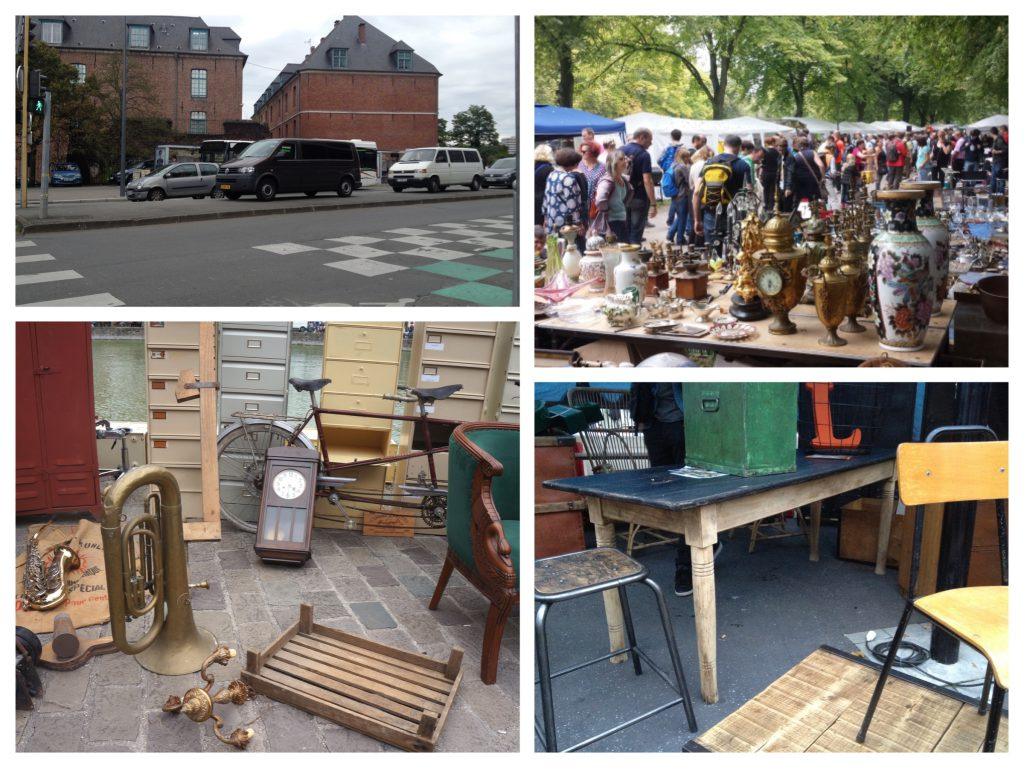 Brocantemarkt Lille-collage