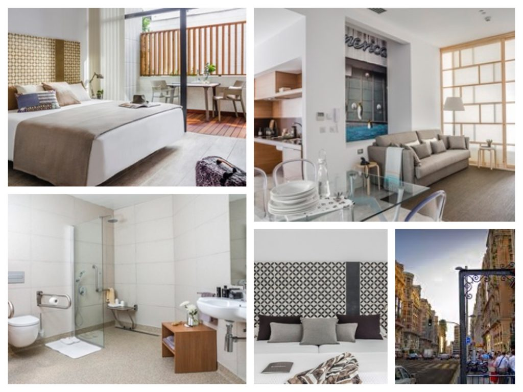 collage appartement Madrid