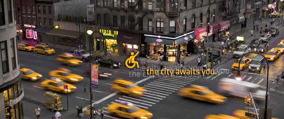 Gele taxi's van Accessible Dispatch