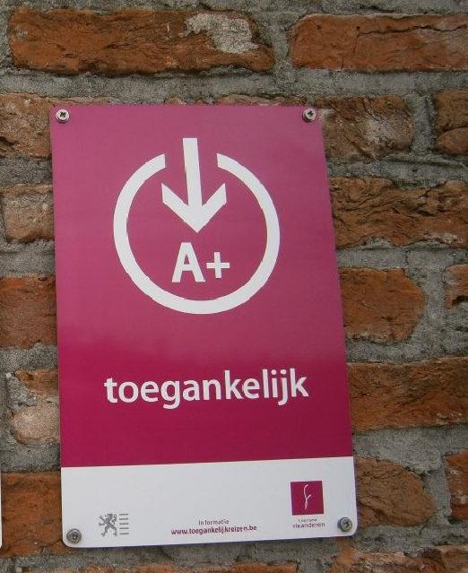 toegankelijkheidslabel A+ België