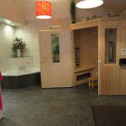 Aldörrum, sauna