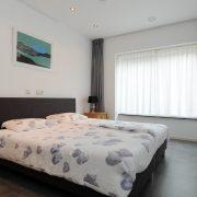 Landschotse Hoeve, slaapkamer1 Wit Holland