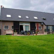 Landschotse Hoeve, terras Wit Holland