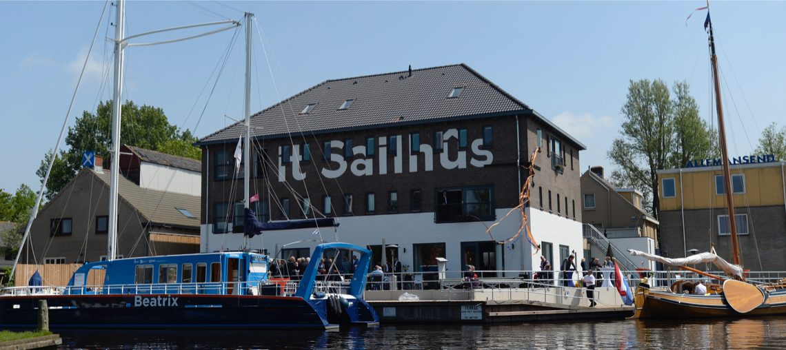 Sailhus Friesland vooraanzicht