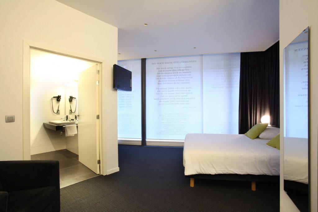 Groene Hendrickx, rolstoeltoegankelijke slaapkamer