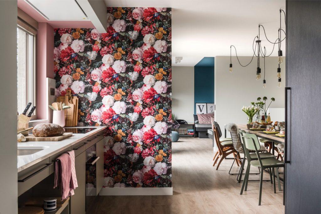 Villa Veldzicht, woonkamer/keuken