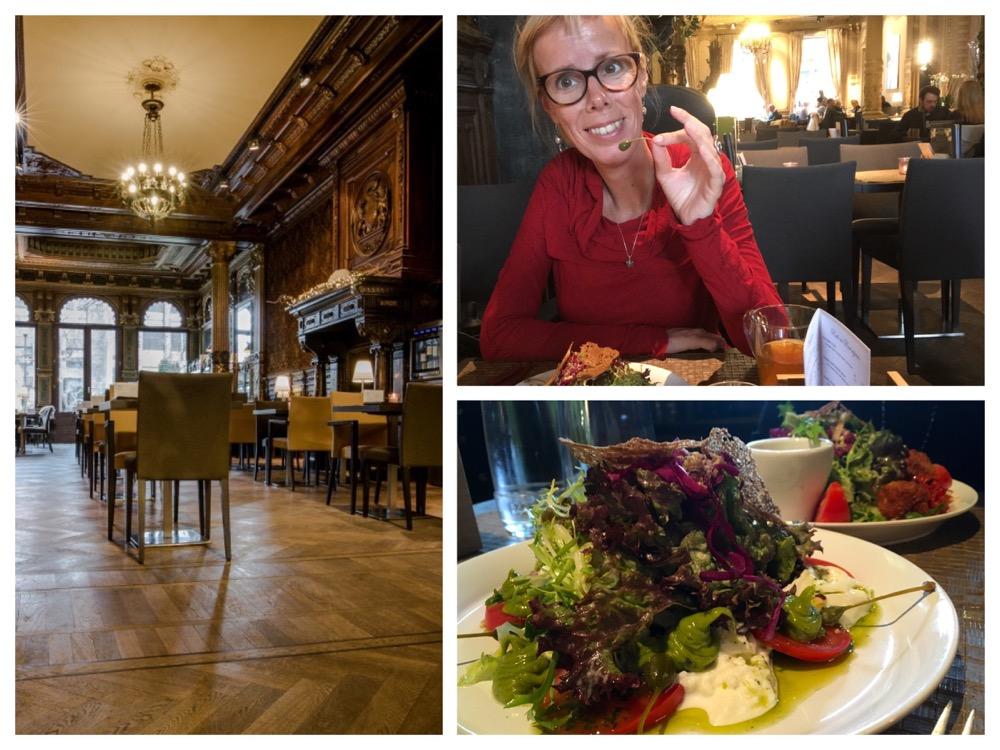 Hasselt, heerlijke lunch bij de Smaaksalon (collage)
