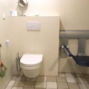 De Zes wielen, rolstoeltoegankelijke badkamer/toilet