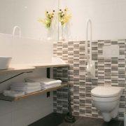 In ons straatje, Kamer Vlinder - rolstoeltoegankelijke badkamer, toilet