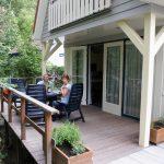 Luctor, op de veranda