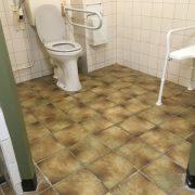 Schipsdune, badkamer toilet/douche