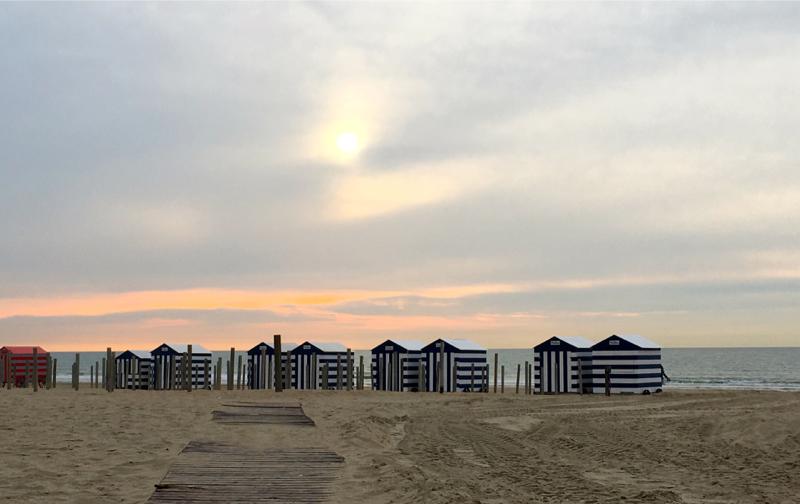 Hotel aan Zee, strand