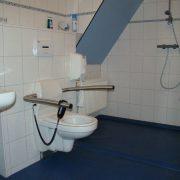 Klein Hoolhorst, rolstoeltoegankelijke badkamer