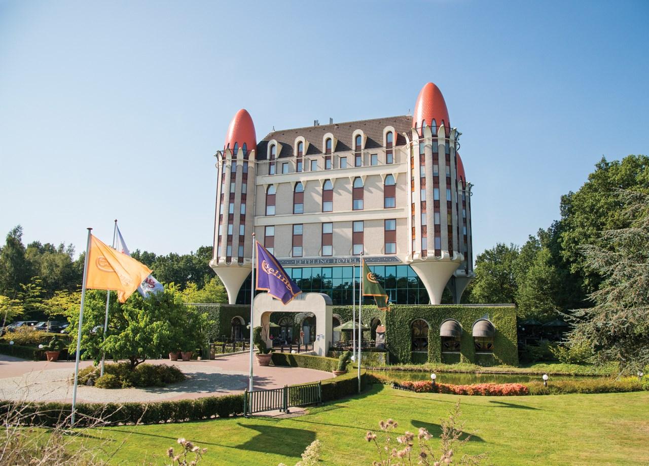 Efteling hotel, buitenkant