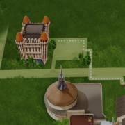 Efteling hotel, plattegrond van het hotel naar het park