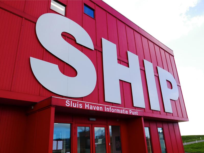 IJmuiden, expositieruimte Ship